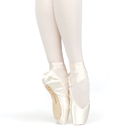 New in Box Russian Pointe Brava Drawstring Pointe Shoe