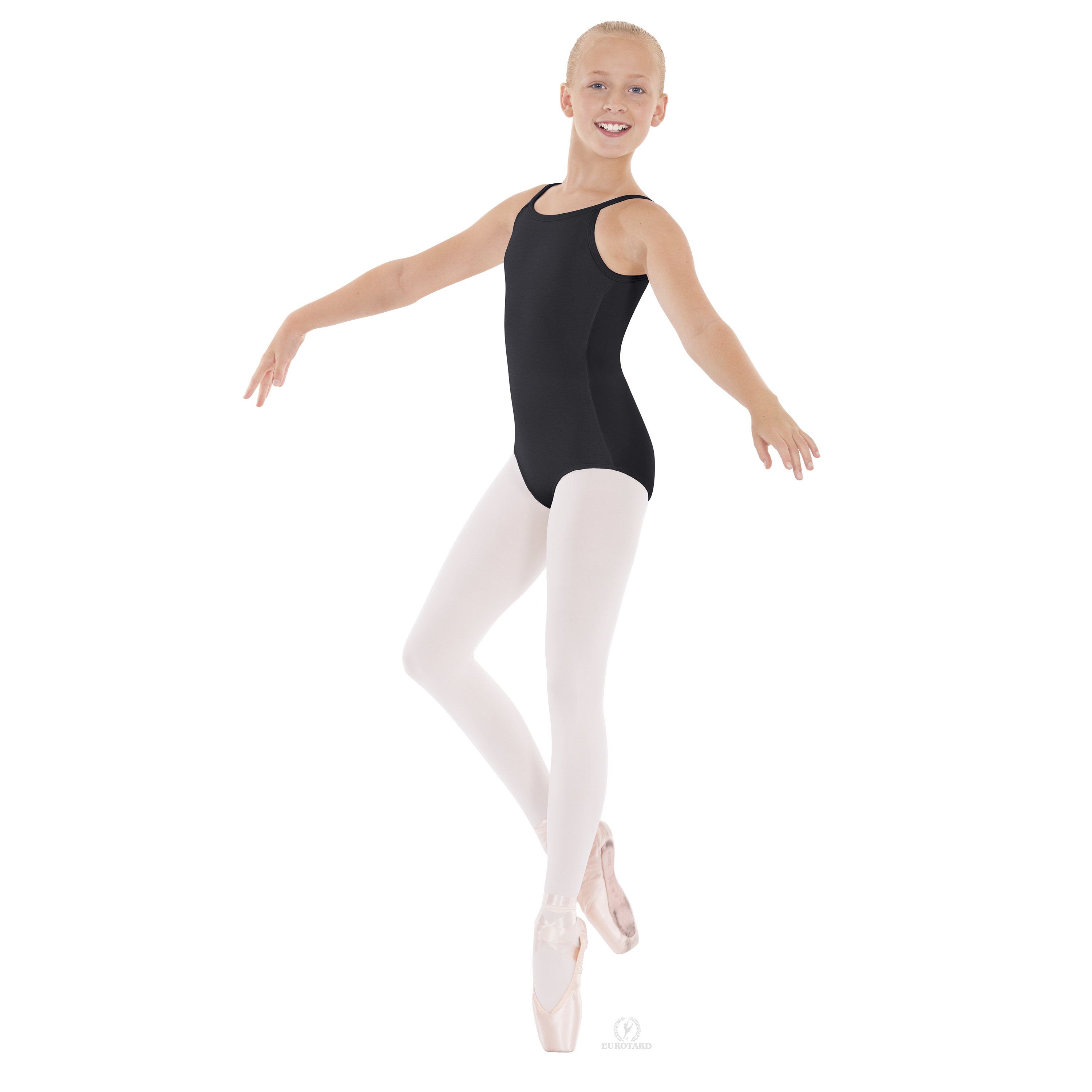 Euarotard Child Cotton Adjustable Leotard 10819C
