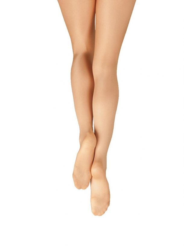 Capezio Ultra Shimmery Footed Tights Child 1808C