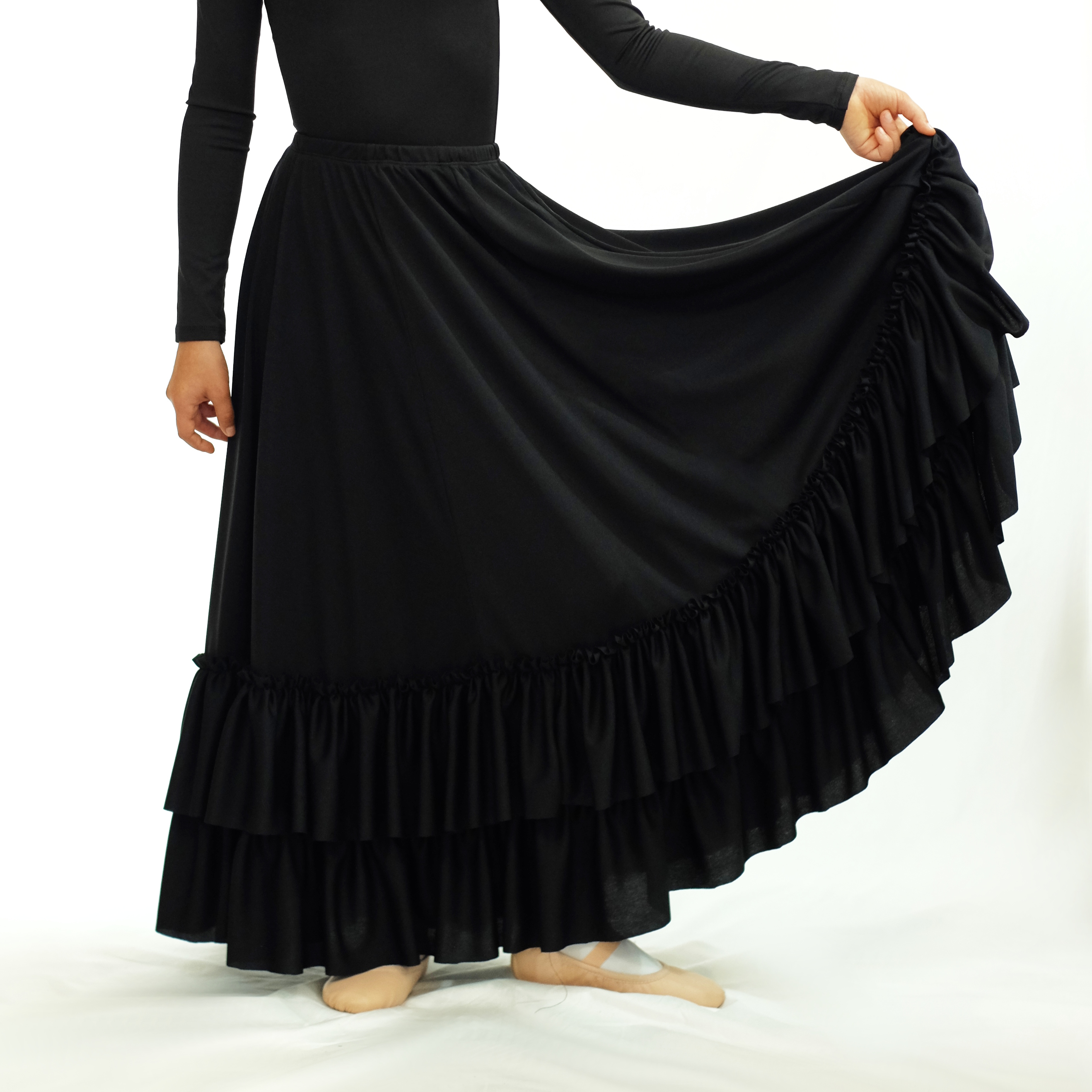 Liesl Child Flamenco Skirt