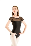 Mesh Short Sleeve Leotard 522LT