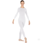 Eurotard Womens Zipper-Back Long Sleeve Unitard with Tactel® Microfiber 44130