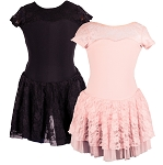 Liesl Child Lace Cross Back Skirted Leo 5-3.1SpDrG