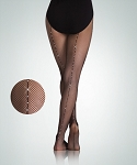 Body Wrappers Adult Seamed Rhinestone Fishnets A64