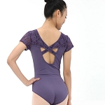 Adult Lace Short Sleeve Leotard BDW14B11