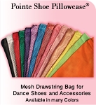 Pillowcase Pointe Shoes Bag