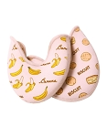 Suffolk Printed Biscuit and Banana Crescent Toe Pad