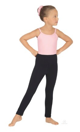 Girls Ankle Leggings with Cotton Lycra®