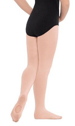 Eurotard Non-Run Convertible Child Tights by Euroskins 210C