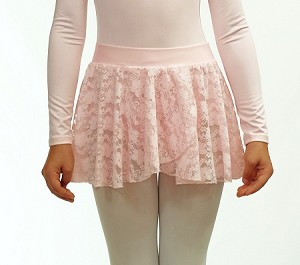 Lace Pull On Skirt