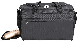 Sassi Solid Black Team Duffel SD-16