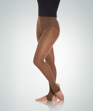 Body Wrappers totalSTRETCH Knit Waist Stirrup Adult Tights A82